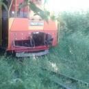 Вырубка деревьев вдоль железнодорожных путей